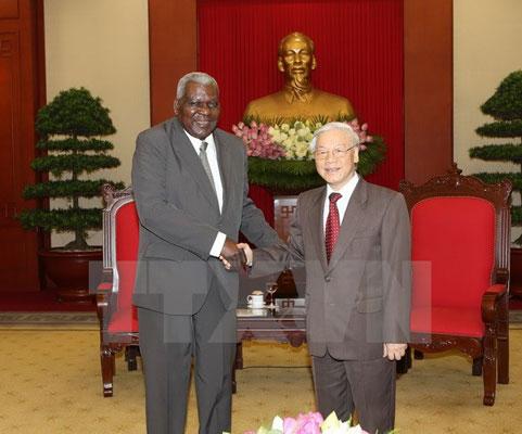 Làm sâu sắc hơn nữa mối quan hệ đặc biệt Cuba-Việt Nam