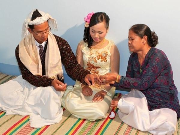Lễ cưới của người Chăm Bà la môn