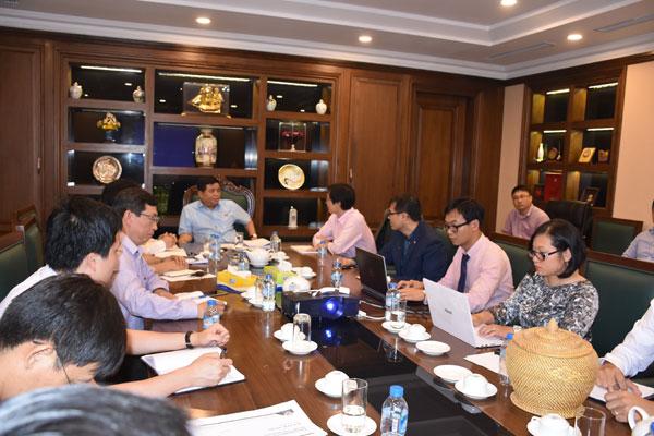 Bộ trưởng Bộ Kế hoạch và Đầu tư Nguyễn Chí Dũng tiếp đại diện Hội AVSE