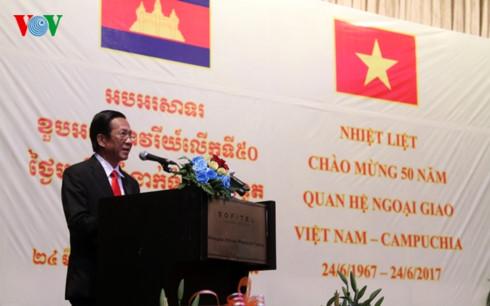 50 năm quan hệ Việt Nam-Campuchia: Củng cố và phát triển