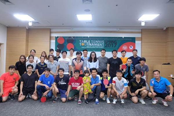 Sôi động giải bóng bàn cho người Việt Nam tại Hàn Quốc năm 2017