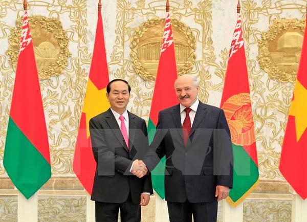 Việt Nam-Belarus thúc đẩy hợp tác song phương trên mọi lĩnh vực