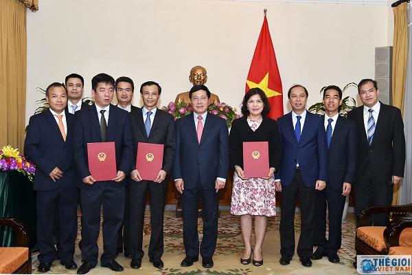 Bổ nhiệm ông Lương Thanh Nghị giữ chức Phó Chủ nhiệm Ủy ban Nhà nước về người Việt Nam ở nước ngoài
