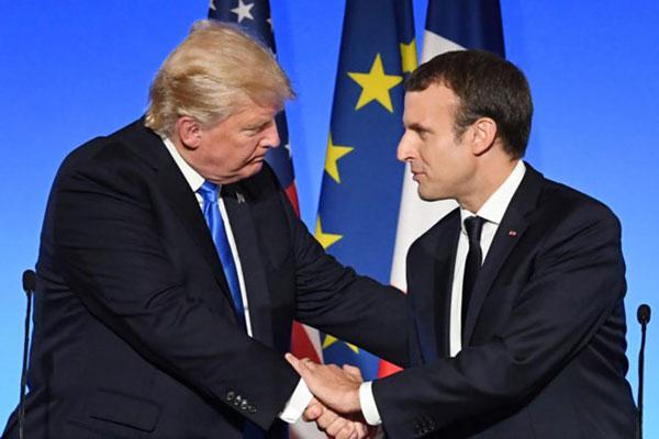 Pháp muốn củng cố vai trò cường quốc trên sân khấu chính trị