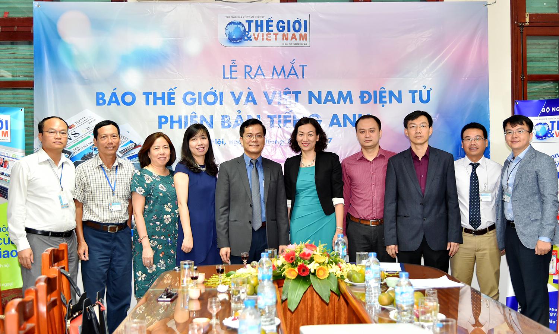 Báo điện tử Thế giới & Việt Nam ra mắt phiên bản tiếng Anh