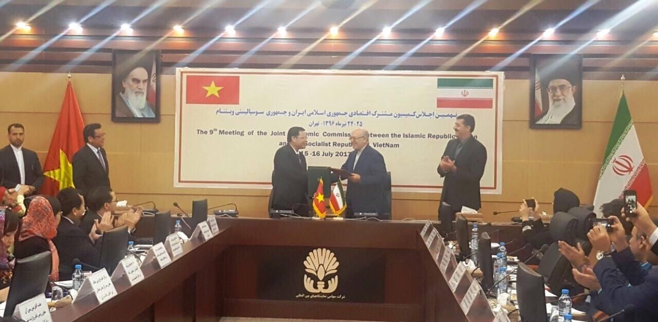 Việt Nam-Iran: Sớm đưa kim ngạch song phương lên 2 tỷ USD/năm