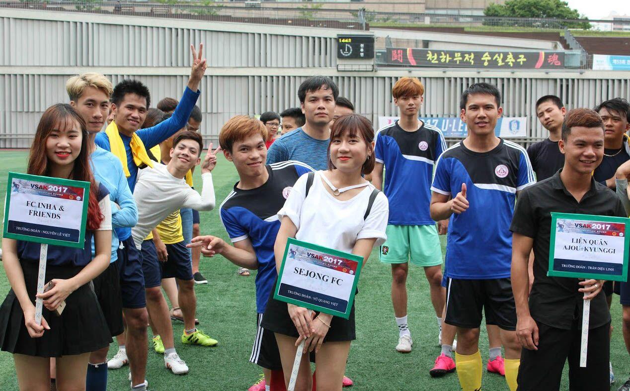 Khai mạc đại hội thể dục thể thao sinh viên Việt Nam tại Hàn Quốc lần thứ 10