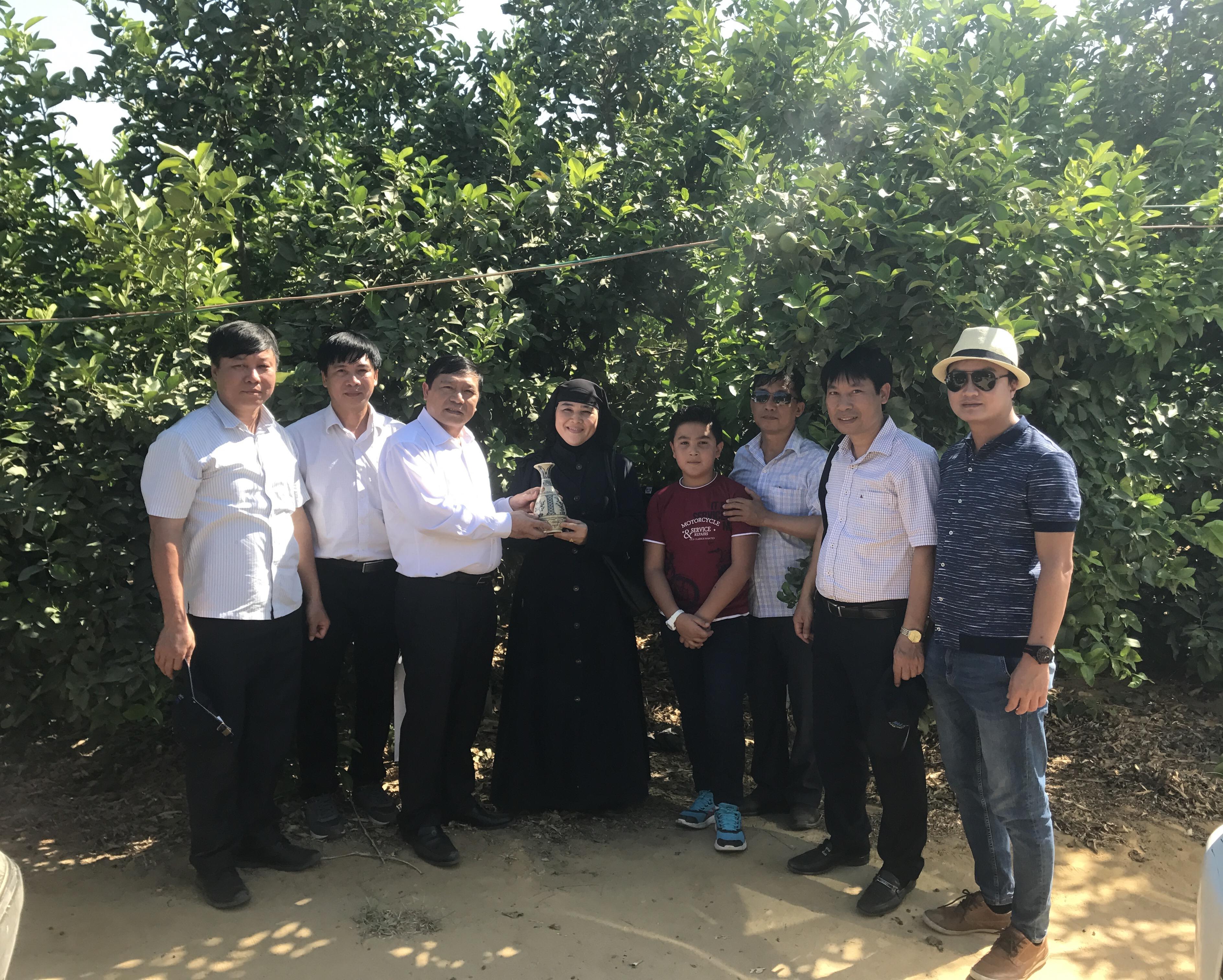 Chủ tịch Hội Nông dân Việt Nam thăm và làm việc tại Ai Cập