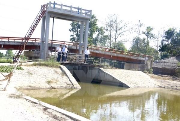 Nhật Bản hỗ trợ vốn ODA xây dựng hệ thống ngăn mặn tại tỉnh Bến Tre