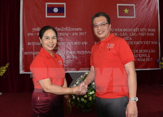 ĐSQ Việt Nam và Lào tại Trung Quốc củng cố tình hữu nghị truyền thống