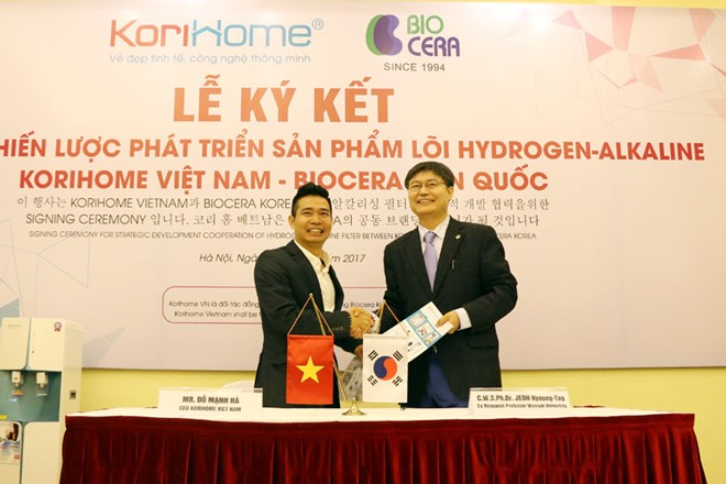 Công bố phát triển lõi lọc nước Hydrogen Alkaline tại Việt Nam