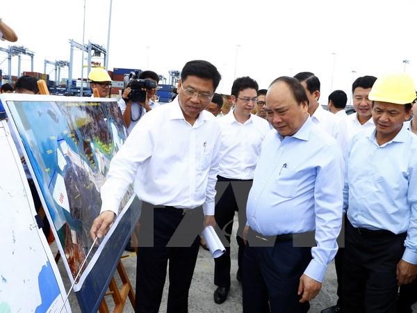 Thủ tướng Nguyễn Xuân Phúc thăm Cảng quốc tế Cái Mép