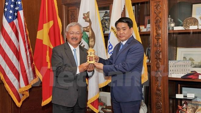 Hà Nội tăng cường hợp tác với bang Utah, San Francisco của Mỹ