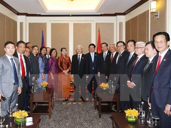 Vun đắp, phát triển bền vững tình đoàn kết Campuchia-Việt Nam