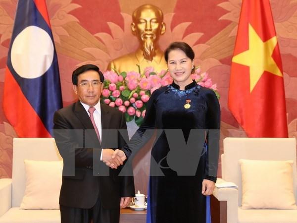 Gắn kết bền chặt tình hữu nghị giữa hai nước Việt Nam - Lào