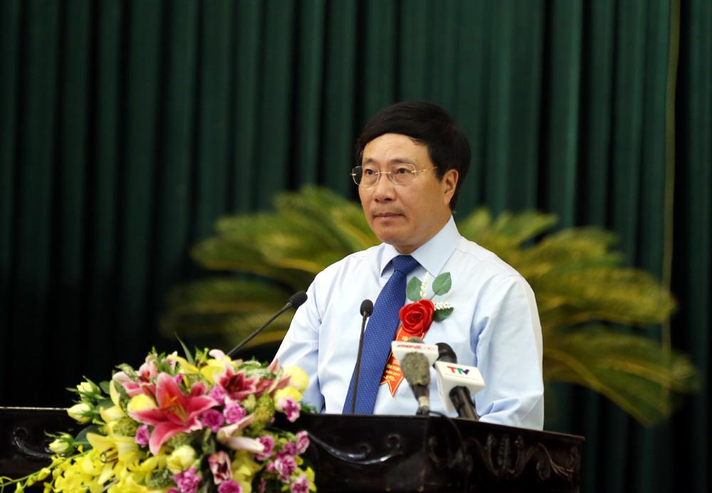 Phó Thủ tướng Phạm Bình Minh dự lễ tri ân người có công tỉnh Thanh Hóa