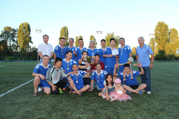 Chung kết Giải bóng đá Cộng đồng người Việt thành phố Kiev