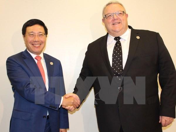 Việt Nam tăng cường hợp tác với các nước và Liên minh châu Âu