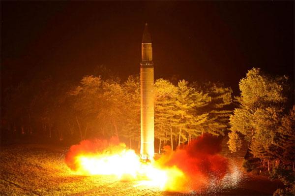Ukraine phủ nhận bán công nghệ tên lửa cho Triều Tiên