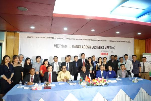 Xúc tiến thương mại Việt Nam - Bangladesh