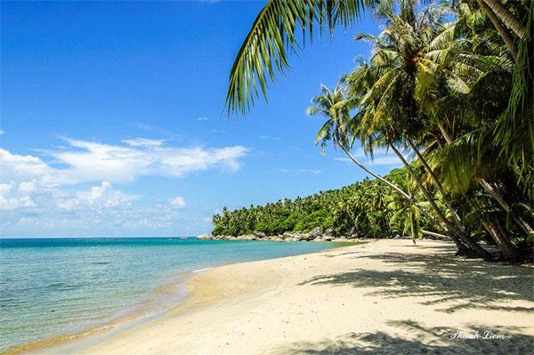 Đảo dừa biển xanh