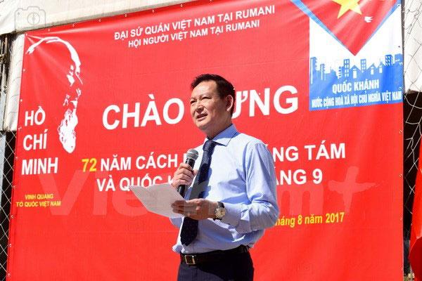 Cộng đồng người Việt tại Romania tưng bừng kỷ niệm Quốc khánh