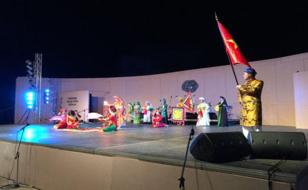 Việt Nam tham dự Lễ hội văn hóa dân gian quốc tế tại Lefkada, Hy Lạp