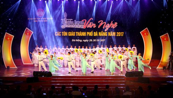 Đa sắc liên hoan các tổ chức tôn giáo 2017