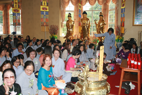 Đại lễ Vu Lan Phật lịch 2561 tại chùa Từ Đàm - Birmingham, Vương quốc Anh