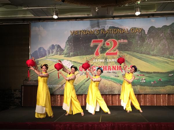 Kỷ niệm 72 năm Quốc khánh 2/9 tại Đài Loan (Trung Quốc)
