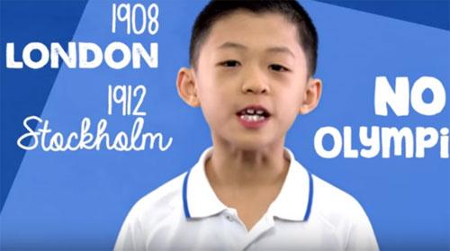 Cậu bé gốc Việt được gọi là
