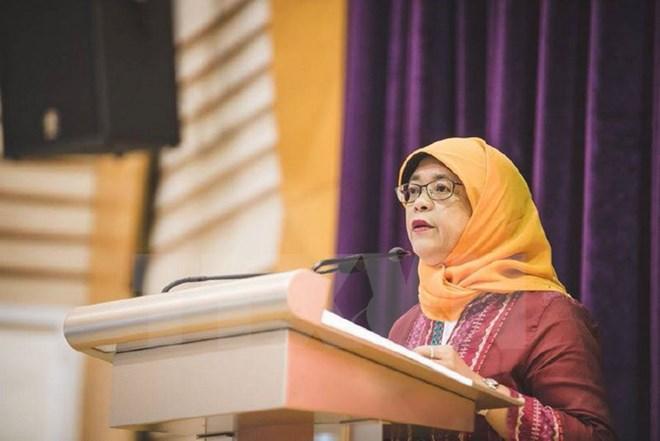 Bà Halimah Yacob chính thức trở thành Tổng thống Singapore