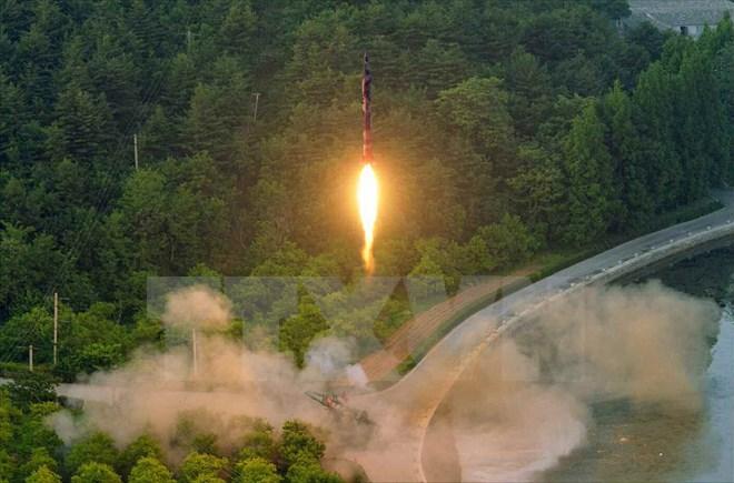 Các nước phản ứng trước vụ phóng tên lửa mới nhất của Triều Tiên