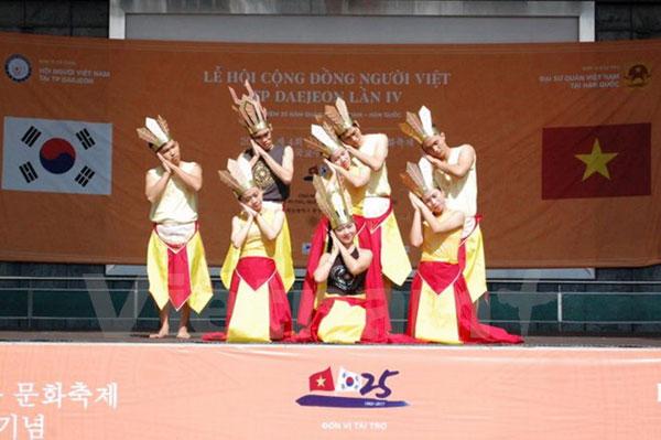 Không gian văn hóa đa màu sắc dành cho người Việt tại thành phố Daejeon, Hàn Quốc