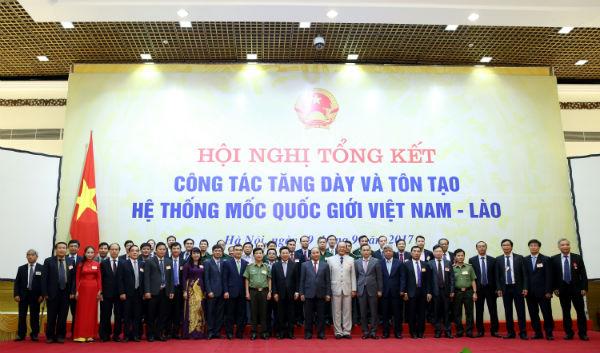 Hoàn thành toàn bộ dự án phân giới, cắm mốc quốc giới Việt Nam - Lào