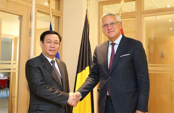 Hợp tác kinh tế là trụ cột của quan hệ Việt Nam-Bỉ