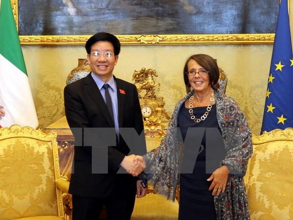 Đoàn công tác Văn phòng Quốc hội Việt Nam thăm và làm việc tại Italy