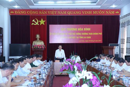 Đẩy nhanh tiến độ xây dựng đường nối Lai Châu với cao tốc Hà Nội - Lào Cai