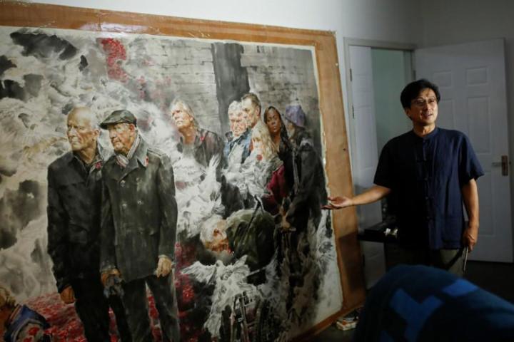 Chiêm ngưỡng những bức tranh nghệ thuật Triều Tiên tại Trung Quốc