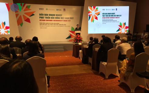 Diễn đàn Doanh nghiệp phát triển bền vững Việt Nam 2017