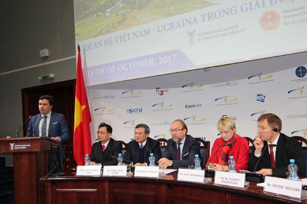 """Diễn đàn """"Quan hệ Việt Nam –Ucraina trong giai đoan mới"""""""