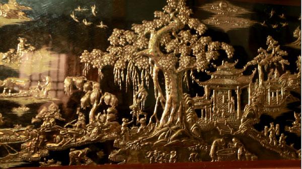 Tinh hoa làng nghề chạm bạc Đồng Xâm