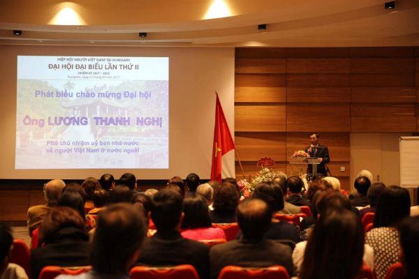 Hiệp Hội người Việt Nam tại Hungary tổ chức Đại hội lần thứ II