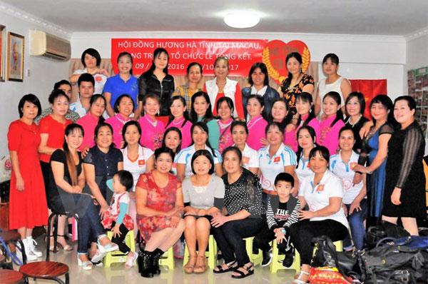 Chính thức ra mắt Hội đồng hương Hà Tĩnh tại đặc khu Macau