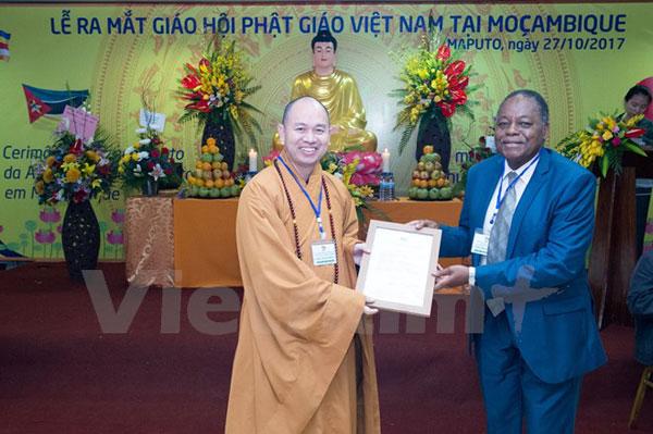 Khởi động kế hoạch thành lập Trung tâm Phật giáo tại Mozambique