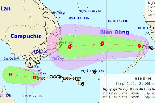 Áp thấp nhiệt đới suy yếu, Tây Nam Bộ mưa lớn