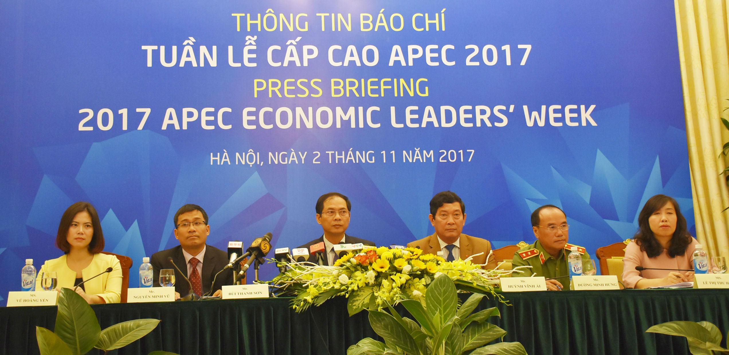 Tất cả lãnh đạo các nền kinh tế thành viên đã xác nhận sẽ tới Tuần lễ Cấp cao APEC