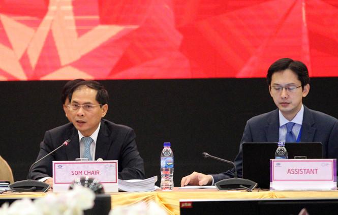 Khai mạc Hội nghị tổng kết các quan chức cao cấp APEC (CSOM)
