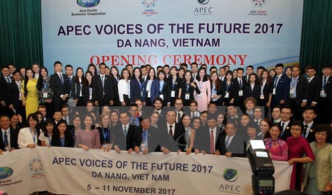 Khai mạc Diễn đàn Tiếng nói tương lai APEC 2017 tại Đà Nẵng