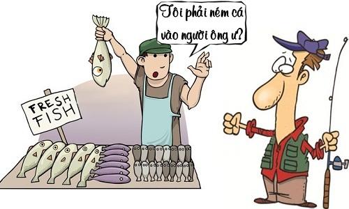 Lòng tự trọng của người câu cá